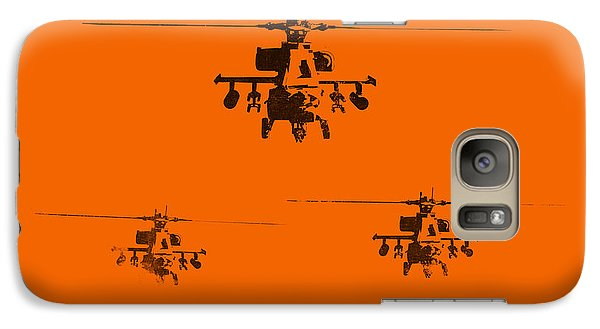 Helicopter Galaxy S7 Case - Apache Dawn by Pixel  Chimp