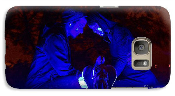 Galaxy Case featuring the photograph Apocalyptic Love by Xn Tyler
