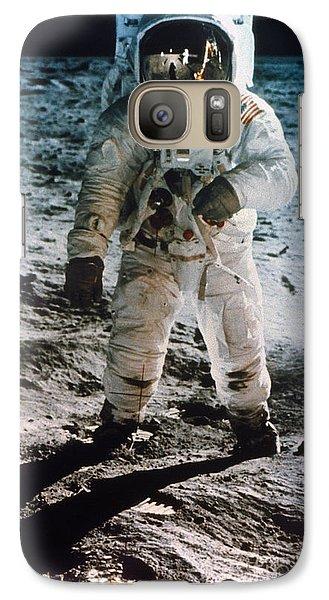 Astronaut Galaxy S7 Case - Apollo 11 Buzz Aldrin by Granger