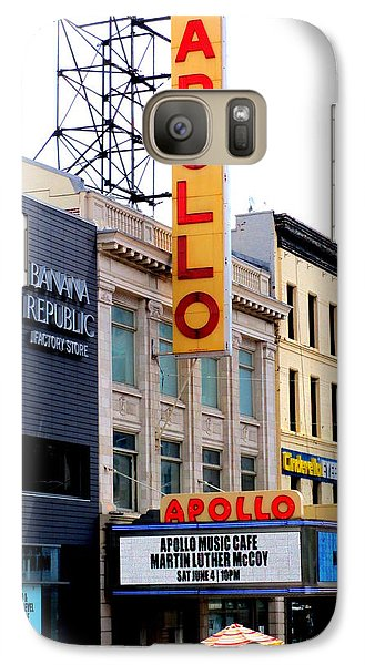 Galaxy Case featuring the photograph Apollo Theater by Randall Weidner