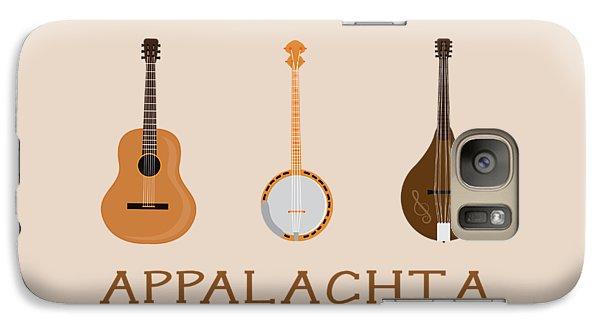 Galaxy Case featuring the digital art Appalachia Music by Heather Applegate