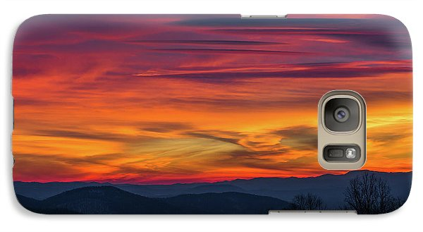Galaxy Case featuring the photograph Appalachian Twilight Ecstasy by Carl Amoth