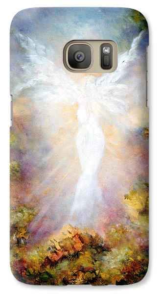 Galaxy Case featuring the painting Apparition II by Marina Petro