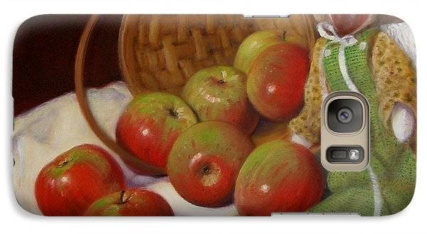 Galaxy Case featuring the painting Apple Annie by Donelli  DiMaria