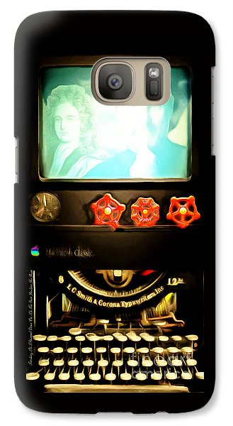 Apple Announcement Introducing The I-steampunk One 20160321 Galaxy S7 Case by Wingsdomain Art and Photography