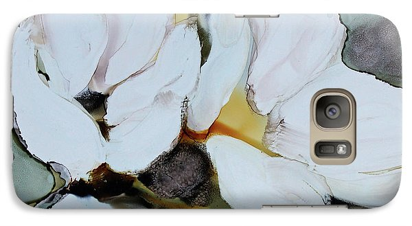 Galaxy Case featuring the painting Apple Blossoms by Joanne Smoley