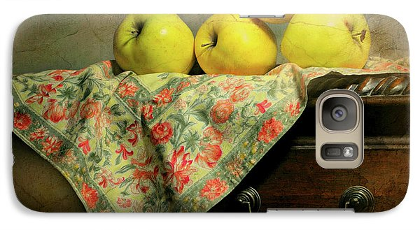 Galaxy Case featuring the photograph Apple Cloth by Diana Angstadt