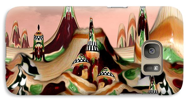 Galaxy Case featuring the photograph Apple Land Countryside by Barbara Tristan
