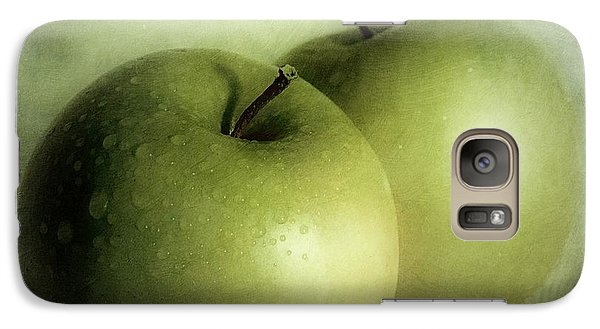Apple Painting Galaxy Case by Priska Wettstein