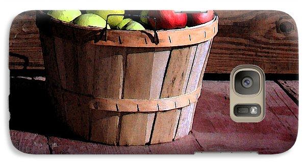Galaxy Case featuring the photograph Apple Pickens by Joanne Coyle