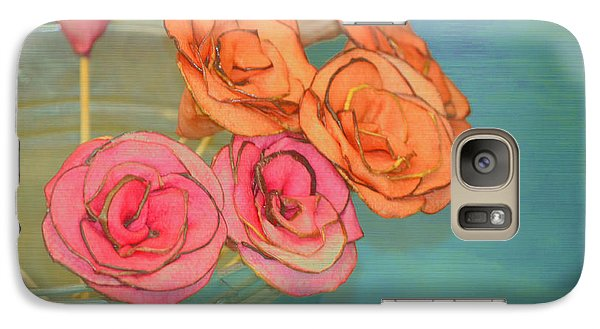 Galaxy Case featuring the photograph Apple Roses by Traci Cottingham