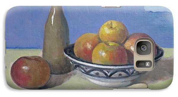 Apples In Moroccan Bowl, Salt And Vintage Bottle Galaxy S7 Case