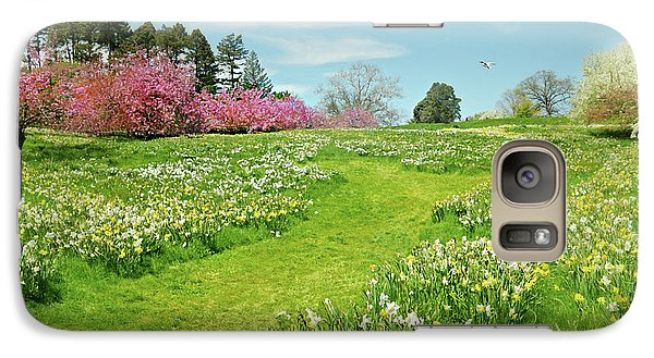 Galaxy Case featuring the photograph April Days by Diana Angstadt