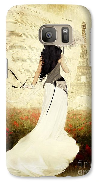 April In Paris Galaxy S7 Case