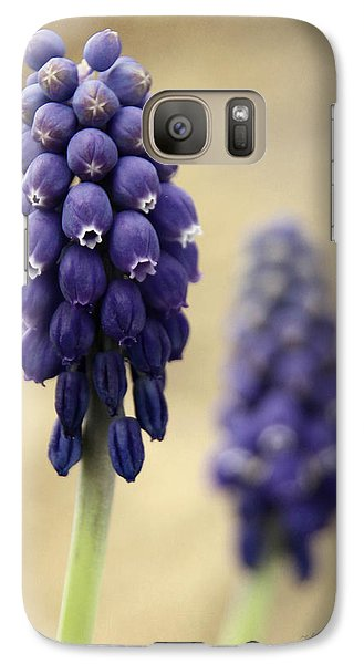 Galaxy Case featuring the photograph April Indigo by Chris Berry