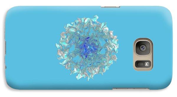Aqua Art By Kaye Menner Galaxy S7 Case by Kaye Menner