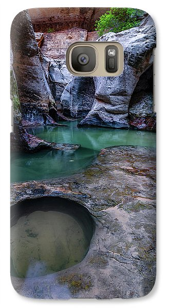Galaxy Case featuring the photograph Aquamarine  by Dustin LeFevre