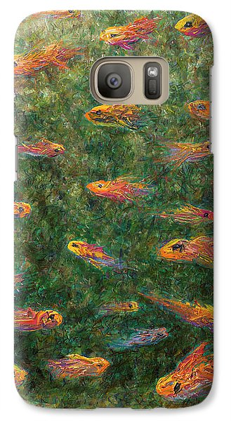 Goldfish Galaxy S7 Case - Aquarium by James W Johnson