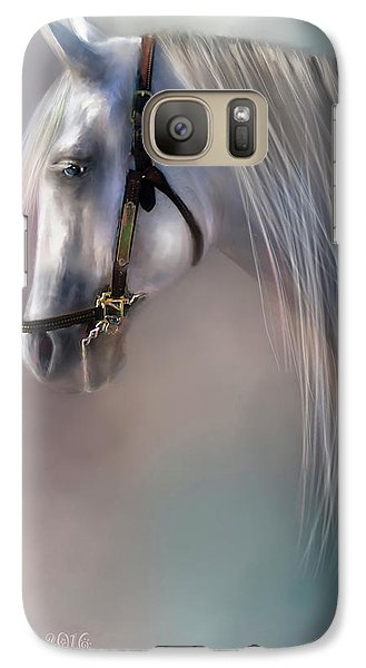 Galaxy Case featuring the digital art Arabian Grey by Kari Nanstad