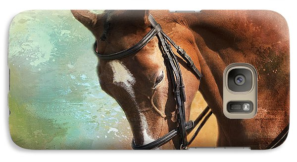 Galaxy Case featuring the photograph Arabian Horse by Theresa Tahara
