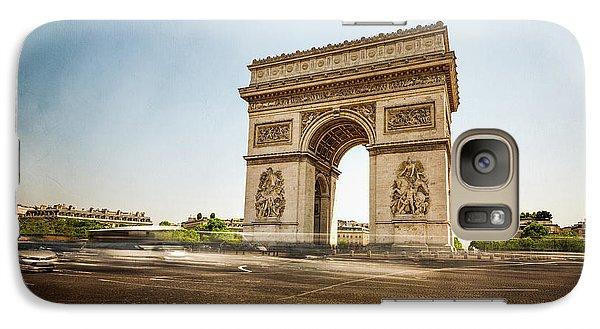 Galaxy Case featuring the photograph Arc De Triumph by Hannes Cmarits