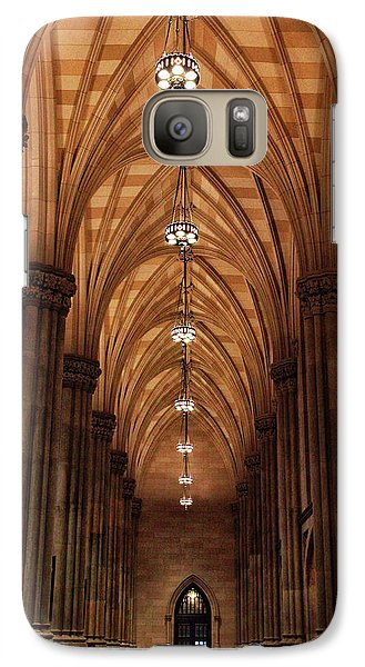 Galaxy Case featuring the photograph Arches Of St. Patrick's Cathedral by Jessica Jenney