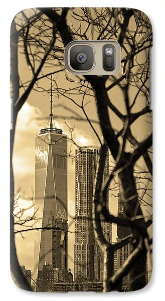 Galaxy Case featuring the photograph Architectural by Mitch Cat