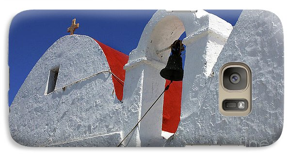 Galaxy Case featuring the photograph Architecture Mykonos Greece by Bob Christopher