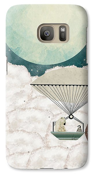 Galaxy Case featuring the painting Arctic Explorers by Bri B