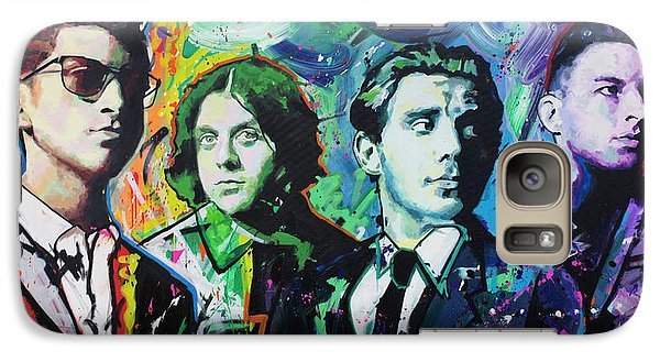 Galaxy Case featuring the painting Arctic Monkeys by Richard Day