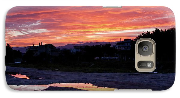 Galaxy Case featuring the photograph Ardore, Calabria Town by Bruno Spagnolo