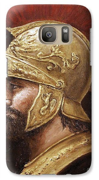 Galaxy Case featuring the painting Ares by Arturas Slapsys