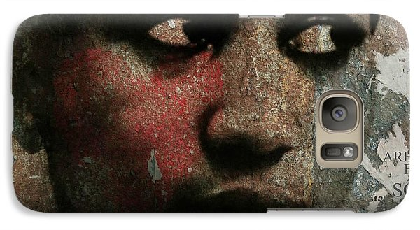 Rhythm And Blues Galaxy S7 Case - Aretha Franklin - Tribute by Paul Lovering