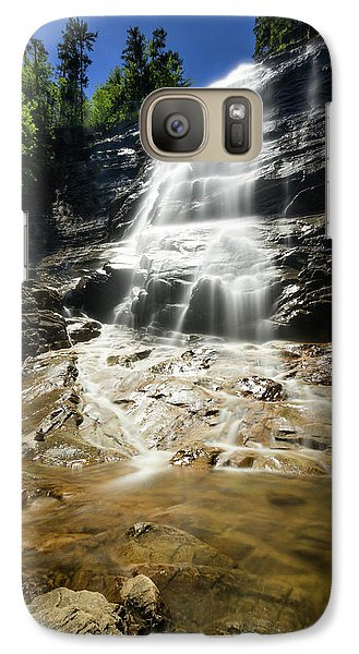 Galaxy Case featuring the photograph Arethusa Falls by Robert Clifford