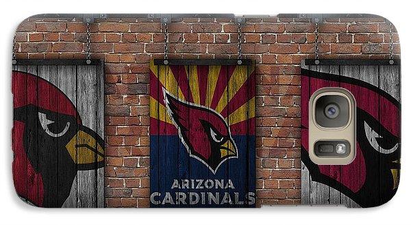 Arizona Cardinals Brick Wall Galaxy S7 Case by Joe Hamilton