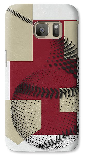 Arizona Diamondbacks Art Galaxy S7 Case by Joe Hamilton