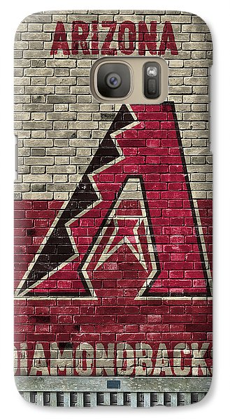 Arizona Diamondbacks Brick Wall Galaxy S7 Case by Joe Hamilton