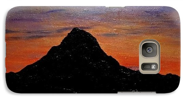 Galaxy Case featuring the painting Arizona Heat by Lori Jacobus-Crawford