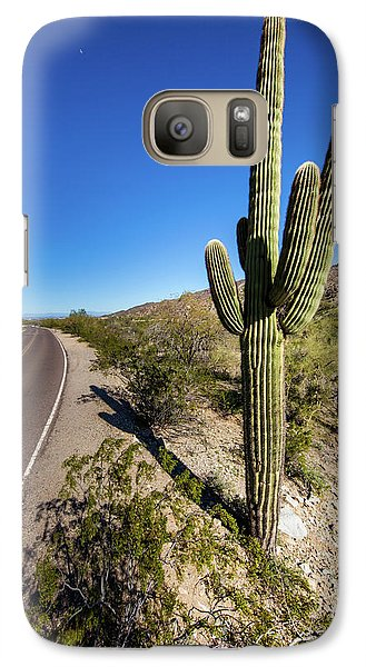 Galaxy Case featuring the photograph Arizona Highway by Ed Cilley
