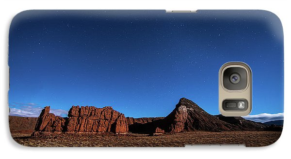 Arizona Landscape At Night Galaxy S7 Case