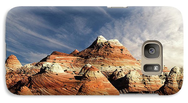 Galaxy Case featuring the photograph Arizona North Coyote Buttes by Bob Christopher
