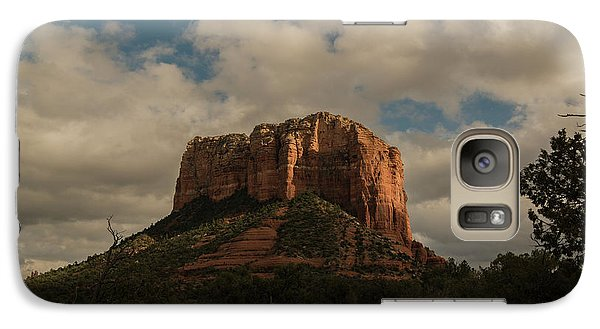 Galaxy Case featuring the photograph Arizona Red Rocks Sedona 0222 by David Haskett