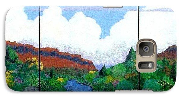 Galaxy Case featuring the painting Arizona Sky by Bernard Goodman