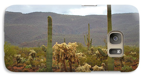 Galaxy Case featuring the photograph Arizona's Sonoran Desert  by Donna Greene