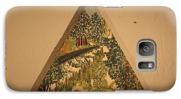 Galaxy Case featuring the painting Arkansas Road by Erika Chamberlin