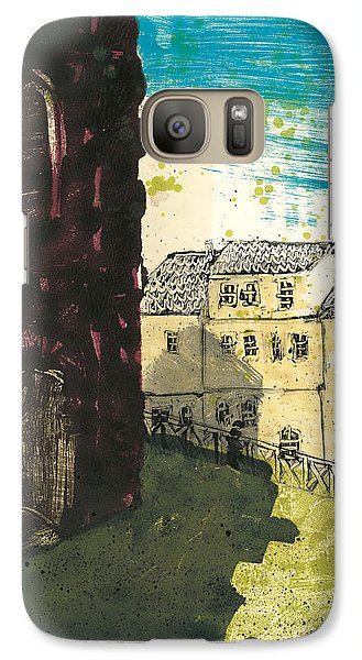 Galaxy Case featuring the painting Arles Near Arena Provence by Martin Stankewitz