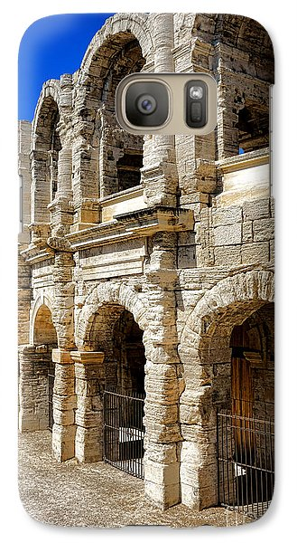 Galaxy Case featuring the photograph Arles Roman Amphitheater by Olivier Le Queinec