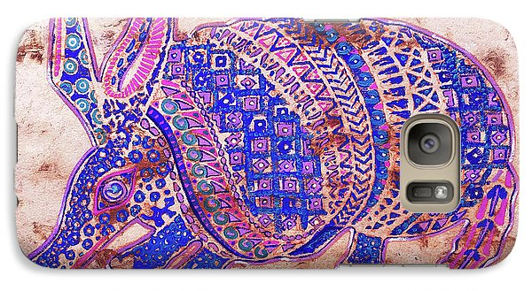 Galaxy Case featuring the painting Armadillo by J- J- Espinoza