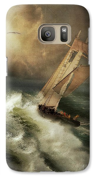 Galaxy Case featuring the photograph Armageddon by Nancy Dempsey