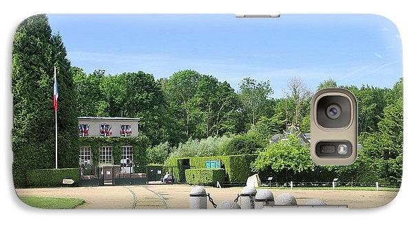 Galaxy Case featuring the photograph Armistice Clearing In Compiegne by Travel Pics
